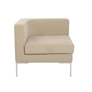 Vittorio Sofa with Arm Rests in Tan
