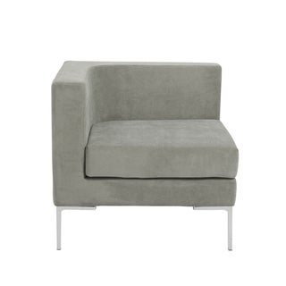 Vittorio Sofa with Arm Rests in Gray