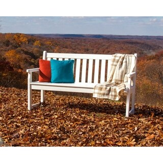 POLYWOOD Traditional 60-inch Outdoor Garden Bench (More options available)