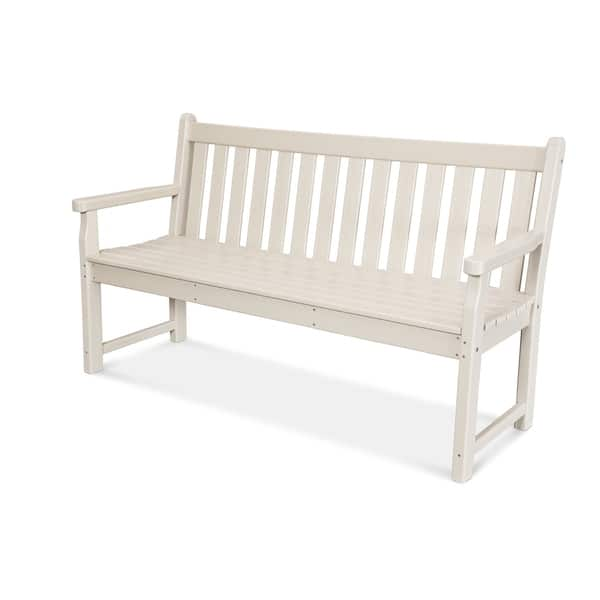Tremendous Shop Polywood Traditional 60 Outdoor Garden Bench Free Beatyapartments Chair Design Images Beatyapartmentscom