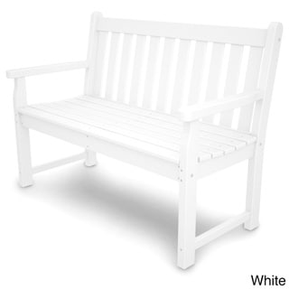 POLYWOOD 48-inch Traditional Garden Bench