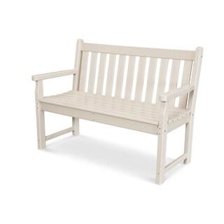 "POLYWOOD Traditional 48"" Outdoor Garden Bench"