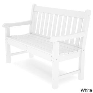 POLYWOOD® Rockford 48 Bench (White)