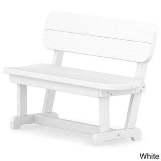 POLYWOOD® Park 48 Bench (White)