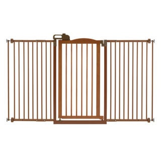 Richell One-Touch Tall and Wide Pressure Mounted Pet Gate II