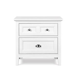 Magnussen Home Furnishings Kenley White 2-drawer Nightstand