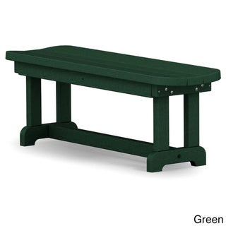 Polywood Park 48-inch Backless Bench