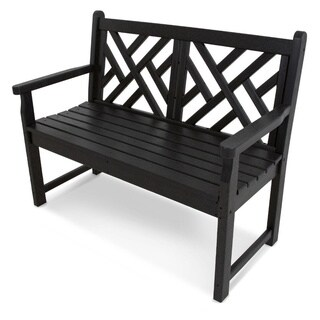 POLYWOOD Chippendale 48-inch Bench (More options available)