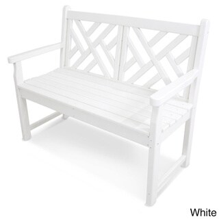 Polywood Chippendale 48-inch Bench