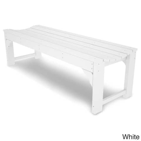 """POLYWOOD® Traditional 60"""" Backless Garden Bench"""