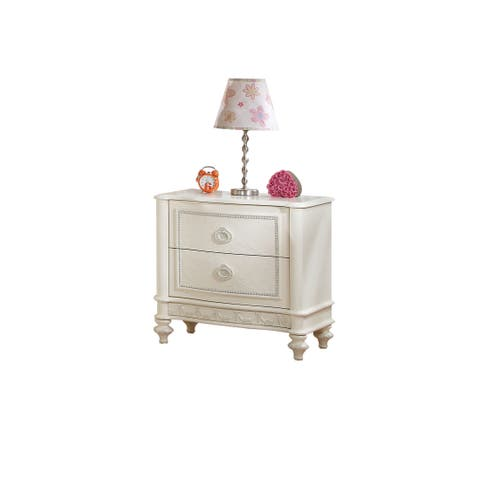 Acme Furniture Dorothy Ivory Nightstand