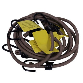 Proforce Equipment Tan Heavy Duty Bungee Cords (4-pack)