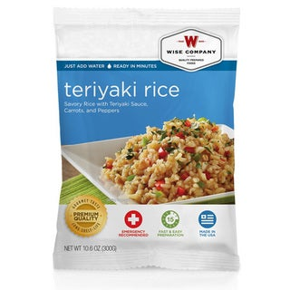 Wise Foods Side Dish Teriyaki and Rice (4 Servings)
