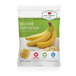 Wise Foods 4-serving Sliced Dried Bananas
