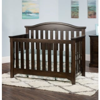 Child Craft Whitman 4-in-1 Convertible Crib, Slate