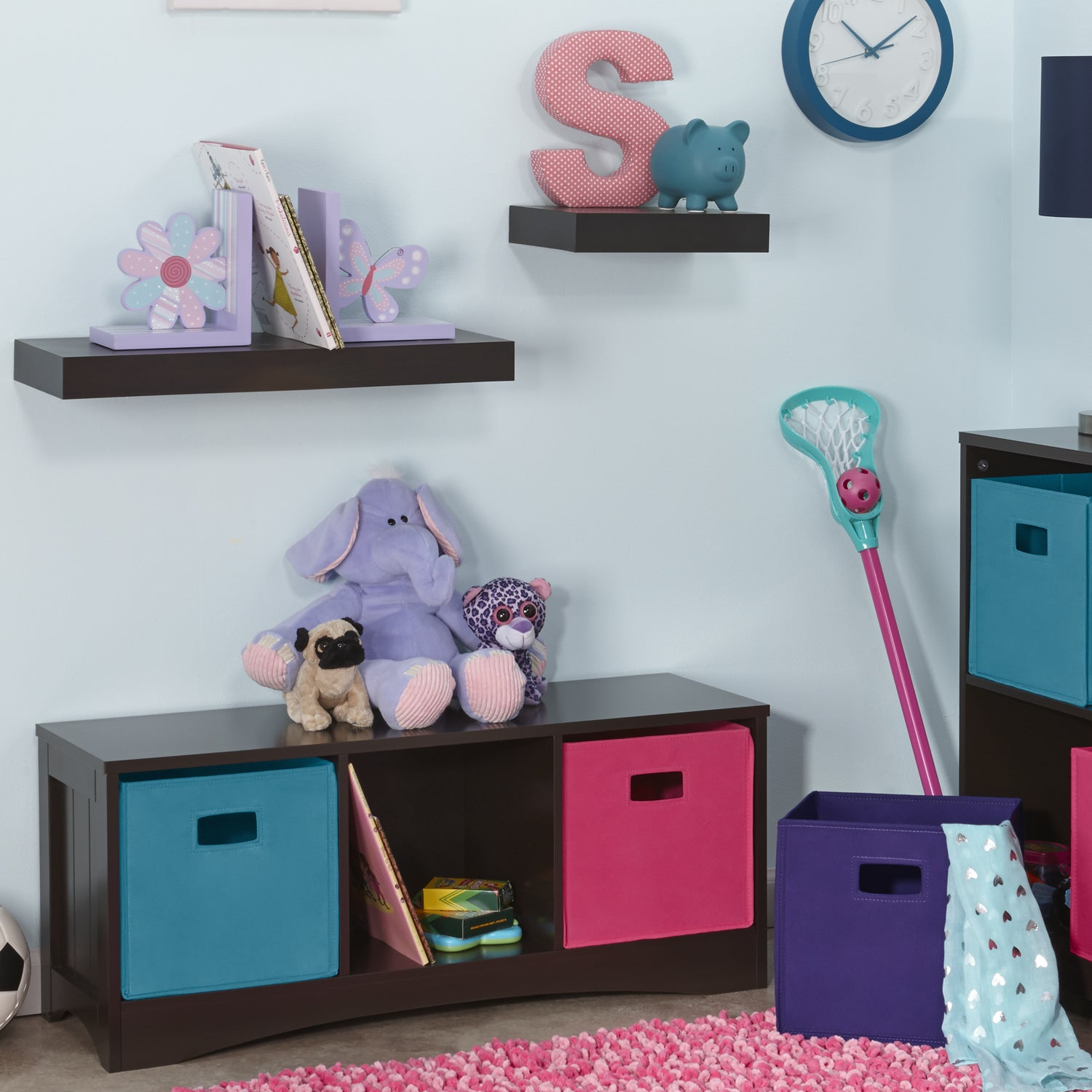 Incredible Details About Riverridge Espresso 3 Cubby Storage Bench For Kids Espresso Ocoug Best Dining Table And Chair Ideas Images Ocougorg
