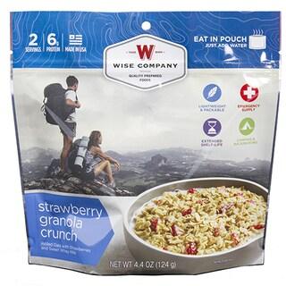 Wise Foods 2-serving Dessert Dish Strawberry Granola Crunch