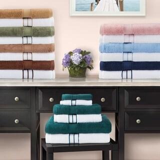 Superior 900 GSM Long Staple Combed Cotton 6-piece Towel Combo Set