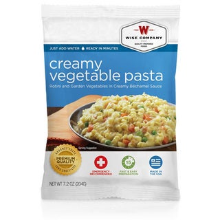 Wise Foods Entree Dish Creamy Pasta and Vegetable Rotini (4 Servings)