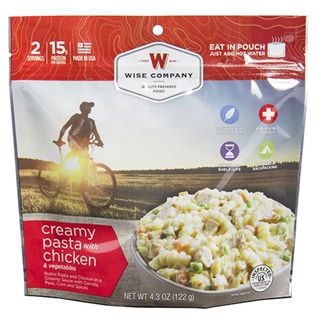 Wise Foods Creamy Pasta and Chicken Entree Dish