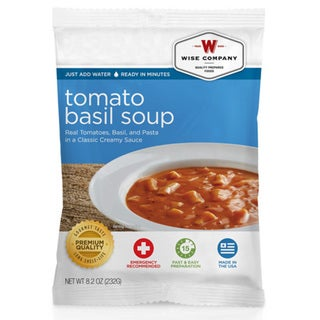 Wise Foods Side Dish Tomato Basil Soup with Pasta (4 Servings)