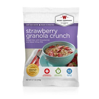 Wise Foods Dessert Dish Strawberry Granola Crunch (4 Servings)