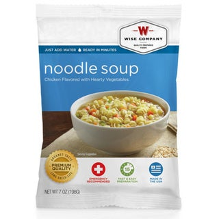 Wise Foods Side Dish Chicken Noodle Soup (Pack of 4 Servings)