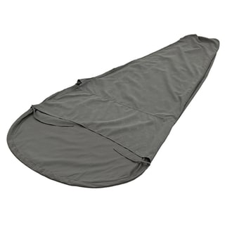 Alps Mountaineering Grey Microfiber 32 x 86 Sleeping Bag Liner Mummy