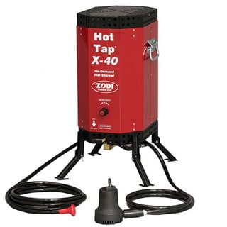 Zodi Outback Gear X-40 Outfitter Hot Showers and Water Heaters