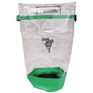 Seattle Sports Glacier Clear and Lime Green Vinyl X-large Dry Bag