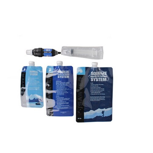 Sawyer Squeeze Filter (Pack of 3) (Squeeze Filter .5, 1, ...