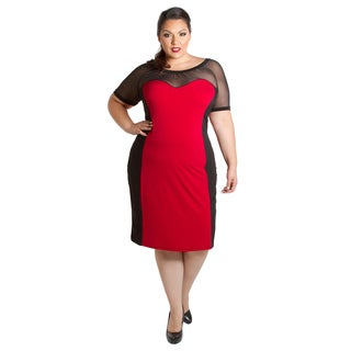 Sealed with a Kiss Women's Plus Size Carmen Dress