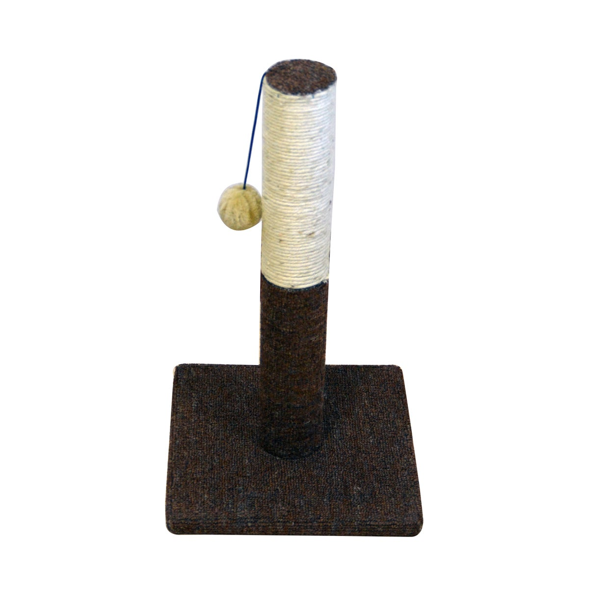 Iconic Pet Kitty Scratch Sisal Cat Scratching Post with P...