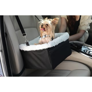 Iconic Pet FurryGo Adjustable Luxury Pet Car Booster Seat