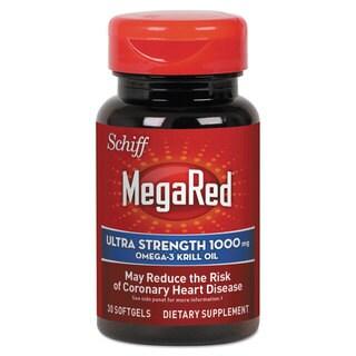 MegaRed Ultra Strength Omega-3 Krill Oil Softgel, 30 Count