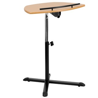 Franz Natural Height-adjustable Laptop Computer Desk Caddy Lectern