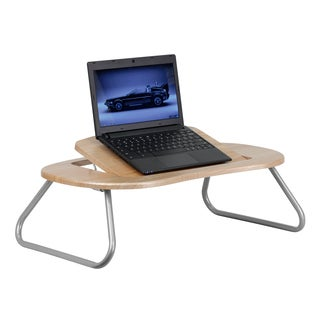 Almoris Natural Adjustable Angled Top Laptop Desk