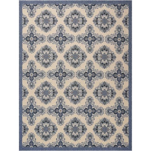 Nourison Caribbean Floral Indoor/Outdoor Area Rug