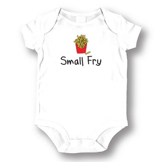 Small Fry' White Baby Bodysuit One-piece