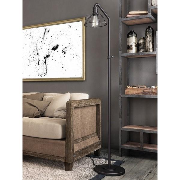 Lite Source 1-Light Gaius Floor Lamp