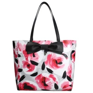 Kate Spade Clement Street Blair Posy Red Multi Tote Bag