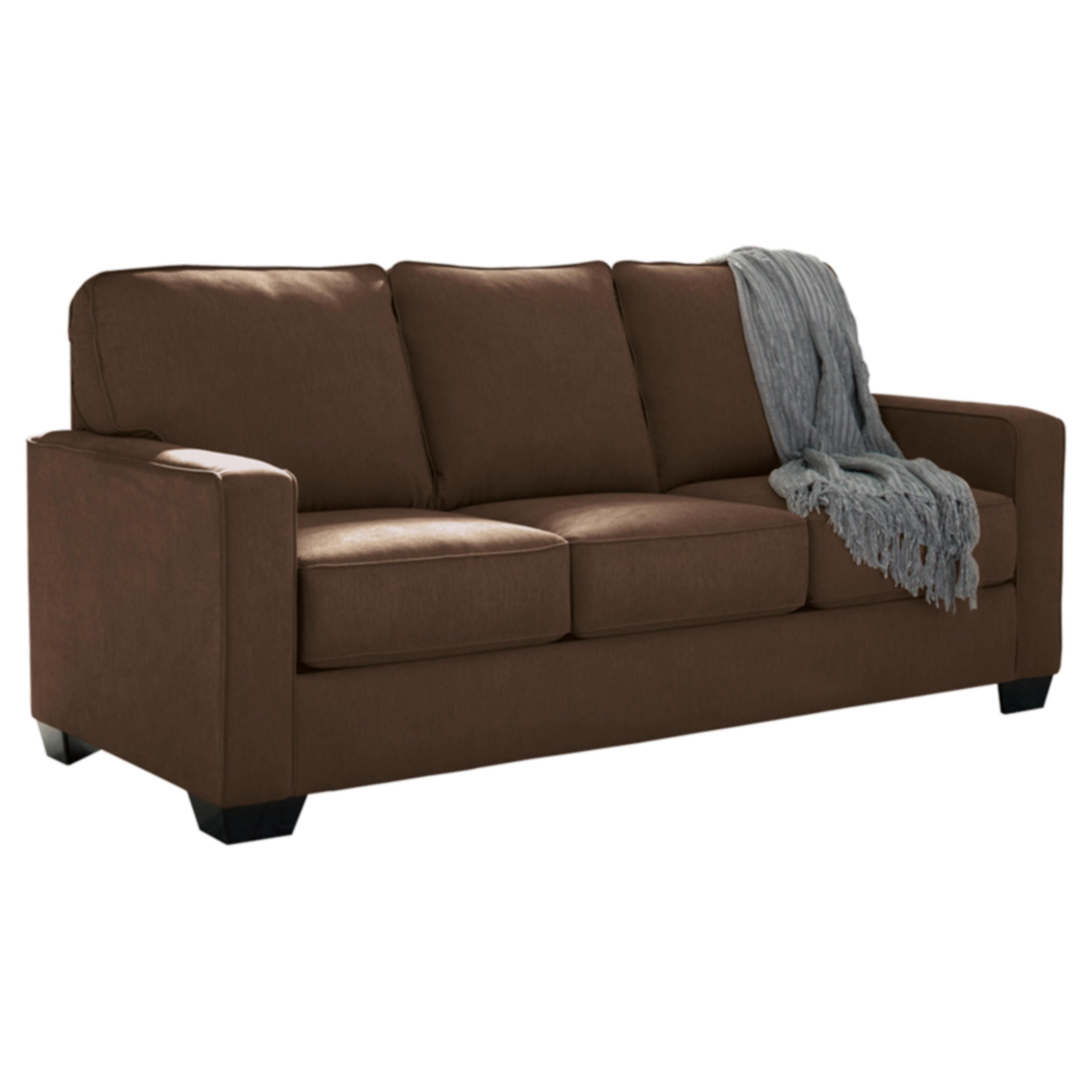 Ashley Zeb Espresso Full Sofa Sleeper (Twin Sofa Sleeper)...