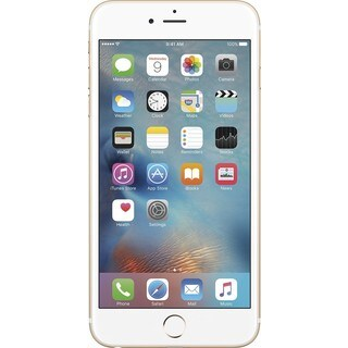 Apple iPhone 6s Plus 128GB Unlocked GSM 4G LTE Dual-Core Phone w/ 12MP Camera - Gold (Refurbished)