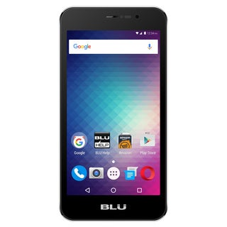 BLU Energy M E110U Unlocked GSM Quad-Core Android Phone - Silver