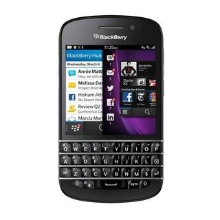 BlackBerry Q10 SQN100-5 Unlocked GSM 4G LTE Dual-Core Phone w/ 8MP Camera - Black