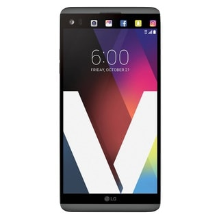 LG V20 64GB Unlocked GSM 4G LTE Quad-Core Phone w/ Dual Rear Camera (16MP+8MP) - Titan