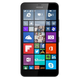 Microsoft Lumia 640 XL Unlocked GSM Quad-Core WIndows Phone w/ 13MP Camera - Black