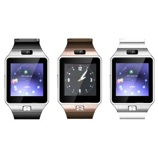 Bluetooth Smart Watch with Camera, Pedometer, Activity Monitor and iPhone/Android Phone Sync (2 options available)