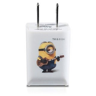 Bytech Minion Despicable Me 1-amp USB Home or Travel Charger Adapter Wall Plug