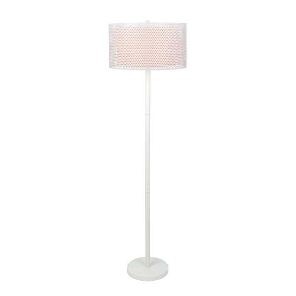 Lite Source 2-Light Parmida Floor Lamp